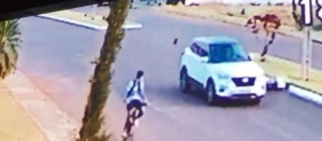 A família ficou em choque com a morte do rapaz (Foto: Captura de vídeo)