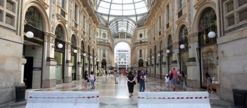 Barriere antisfondamento in Galleria a Milano