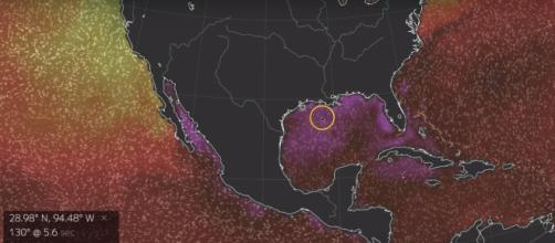 Catastrophic Flooding forecasted for Gulf of Mexico States via MrMBB333 youtube channel