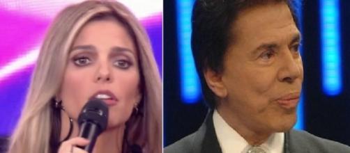 Fernanda Lima não se cansa de falar de Silvio Santos