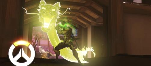 "Genji is perhaps the only hero in ""Overwatch"" with a high skill ceiling (via YouTube/PlayOverwatch)"