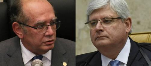 Gilmar Mendes e Rodrigo Janot entram em 'atrito' devido à soltura de empresário de ônibus