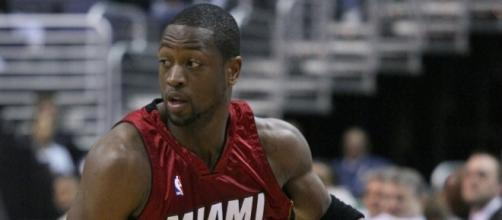 Is Dwyane Wade closer to returning to the Miami Heat? - image source: Keith Allison/Flickr - flickr.com