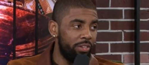 Kyrie Irving shaved his beard for the filming of a movie -- NBALife via YouTube