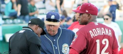 MLB umpires are ready to stop abuse from players and managers. Eric Enfermero via Wikimedia Commons