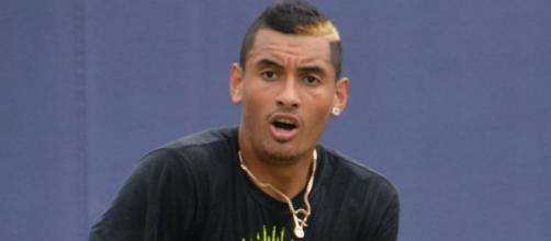 Nick Kyrgios booked his 100th tour-level victory after beating Rafael Nadal -- Carine06 via WikiCommons