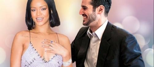 Rihanna, Hassan Jameel - Image via YouTube/Kelly Silva