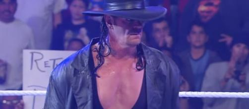 """The Phenom"" Undertaker at SummerSlam? Image credits - Youtube/WWE"