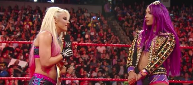 Alexa Bliss will defend the WWE 'Raw' Women's Championship against Sasha Banks at 'SummerSlam 2017' PPV. [Image via WWE/YouTube]