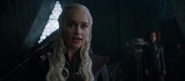 Fan theories suggest that Queen Daenerys will be betrayed by a trusted ally at a crucial time. source: Kristina R/youtube