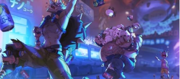 """Junkrat and Roadhog from """"Overwatch"""" - YouTube/Force Gaming"""