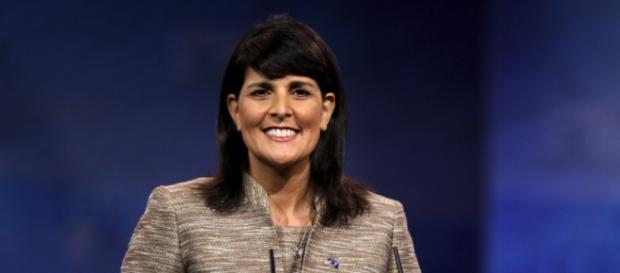 Nikki Haley has urged people to shun hate/flickr/ https://www.flickr.com/photos/gageskidmore/8568122594
