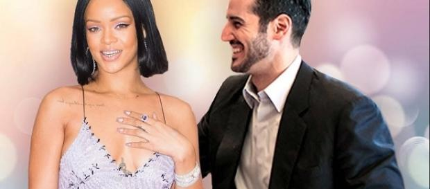 Rihanna, Hassan Jameel - Image via YouTube/Kelly Silva