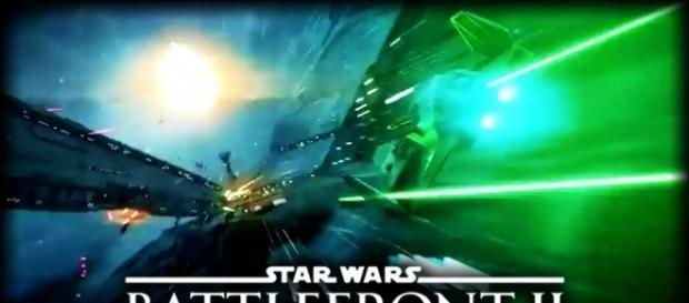 "'Star Wars: Battlefront II"" leaked trailer reveals Space Battles and Jedis (Bombastic Gamer Films/YouTube Screenshot)"