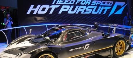 E3 2010 Need for Speed Hot Pursuit car at the EA booth (via flickr - The Conmunity - Pop Culture Geek)