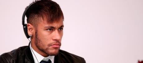 FC Barcelona's Neymar during a function in Doha - image - Vinod Divakaran   Flickr