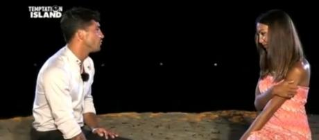 Nell'ultima puntata c'è il confronto tra Alessio e Valeria