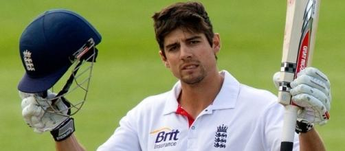 Alastair Cook after scoring one of 30 test match hundreds - Stabroek News