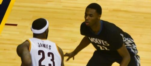 Andrew Wiggins is not a trade option for the Timberwolves franchise (Image Credit - Erik Drost/Wikimedia Commons)