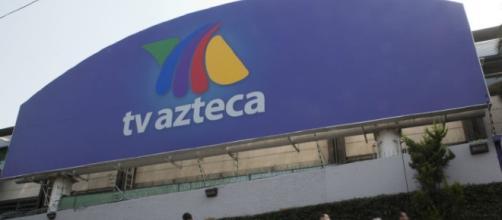 Fachada de las oficinas de TV Azteca #CDMX