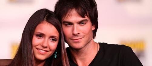 Ian Somerhalder, Nina Dobrev reunion (Image Source: Flickr/Gage Skidmore)