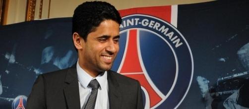 Il patron del Paris Saint Germain, Nasser al-Khelaifi