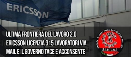 Il Sindacato di Forza Nuova interviene sulla questione Ericsson