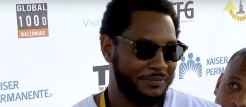 Melo speaks out about future with Knicks for the first time this summer - (Image credit: YouTube/ESPN)