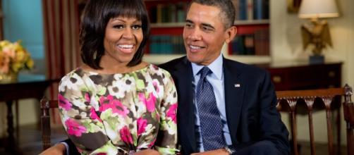 Michelle e Obama em meio a boatos de separação