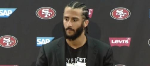 Ravens president Dick Cass said the team has had direct talks with Colin Kaepernick -- Fortyniners LakersSpin via YouTube