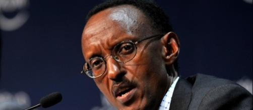 Rwandan President Paul Kagame by Eric Miller via Wikimedia Commons