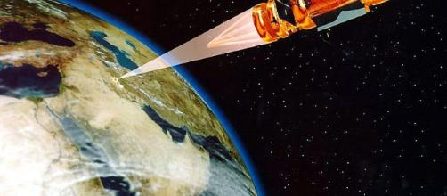 Space based missile defense (United States government wikimedia)