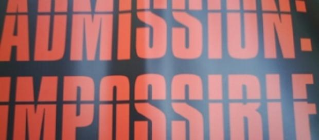 Admission Impossible (David Morris flckr)