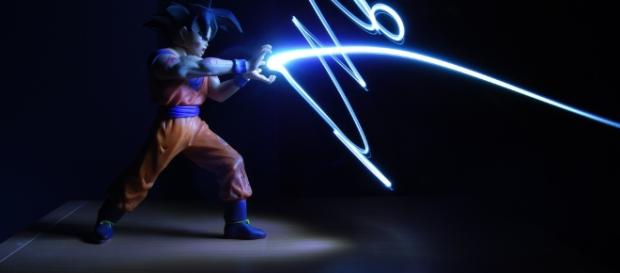 In every major battle, Goku seems to discover a new form. [Image via Flickr/Photo Sharing]