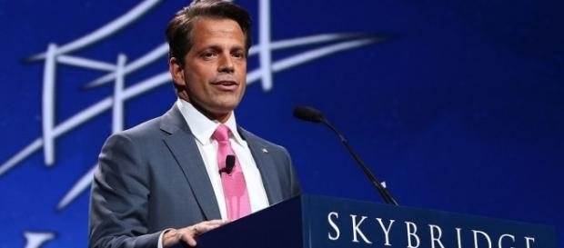 Anthony Scaramucci explains his phone conversation with a journalist where he attacked Reince Priebus. (Wikimedia/Jdarsie11)