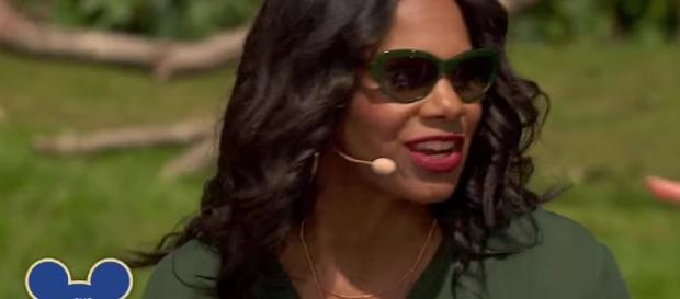 """Audra McDonald joins as series regular for """"The Good Fight"""" season 2. Image via YouTube/The View"""