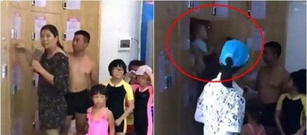 Criança é presa dentro de armário