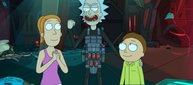 Las aventuran son infinitas en compañía de Rick, Morty y Summer.