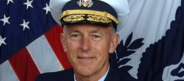 Paul F. Zukunft vowed to defend transgender personnel after trans military ban announcement. (Wikimedia/United States Coast Guard)