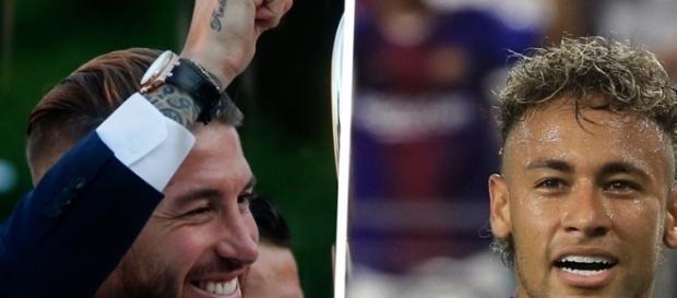 "Real Madrid, Sergio Ramos : ""J'espère que Neymar va quitter ... - alvinet.com"