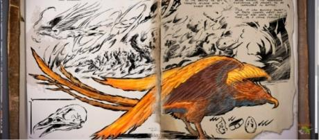"""A screenshot of the Phoenix in """"ARK: Survival Evolved."""" - YouTube/Jade Plays Games"""