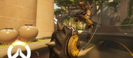 """One of the best characters when it comes to defense in """"Overwatch"""" is none other than Junkrat (via YouTube/PlayOverwatch)"""