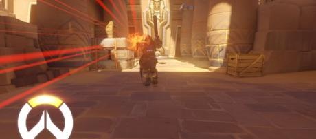 "Reaper is the nightmare of all tank heroes in ""Overwatch"" (via YouTube/PlayOverwatch)"