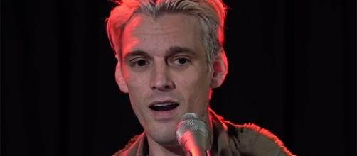 Aaron Carter commented on how he would like to date women from here on out. (YouTube/102.7KIISFM)