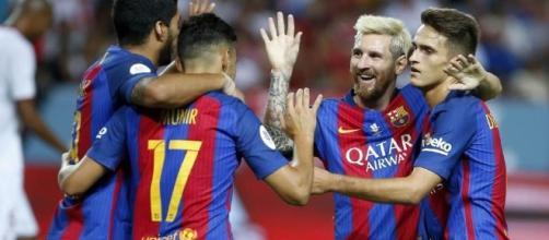 Calciomercato Napoli Denis Suarez Barcellona - varzesh11.com