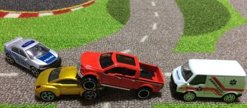Car crash including police Pixabay.com CC0