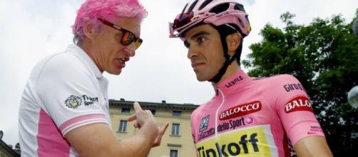 Alberto Contador al Giro d'Italia