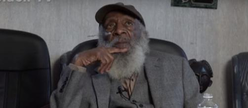 Dick gregory passed on aged 84. Image[realblack-YouTube]