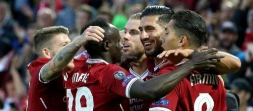 El Liverpool regresa a la UEFA Champions League. The Mirar.co.uk.