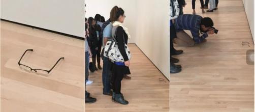 Foto del suceso en el Museo de Arte Moderno de San Francisco.